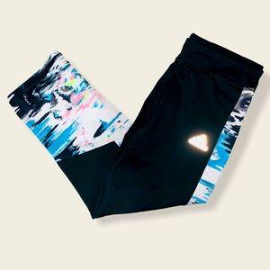 Adidas sportswear leggings youth girls kids lg 14